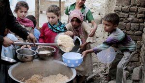 سوء تغذیه کودکان افغانستانی